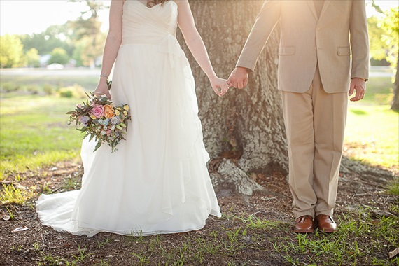 real wedding bride and groom poplar plantation - emmaline bride wedding blog