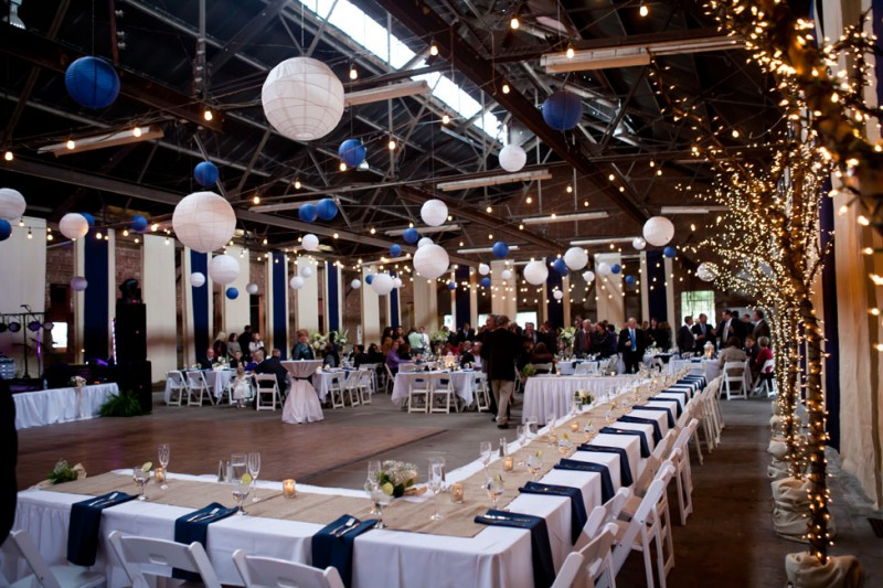 Navy Blue Wedding Reception Ideas For And White Photo Kristina Cipolla
