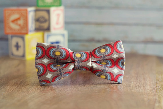 Patterned Bow Ties - Retro