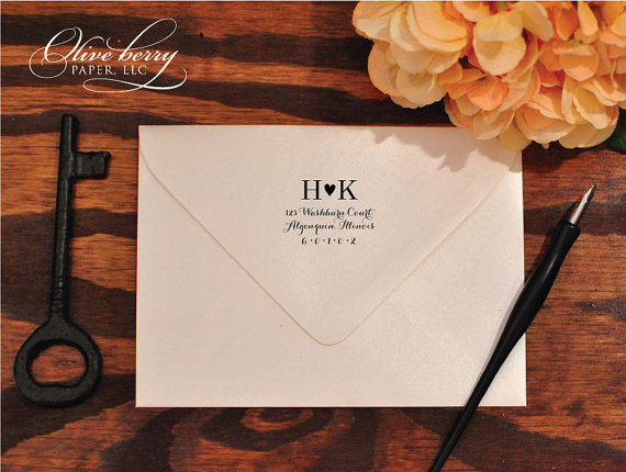 Custom Wedding Stamp for the DIY Bride