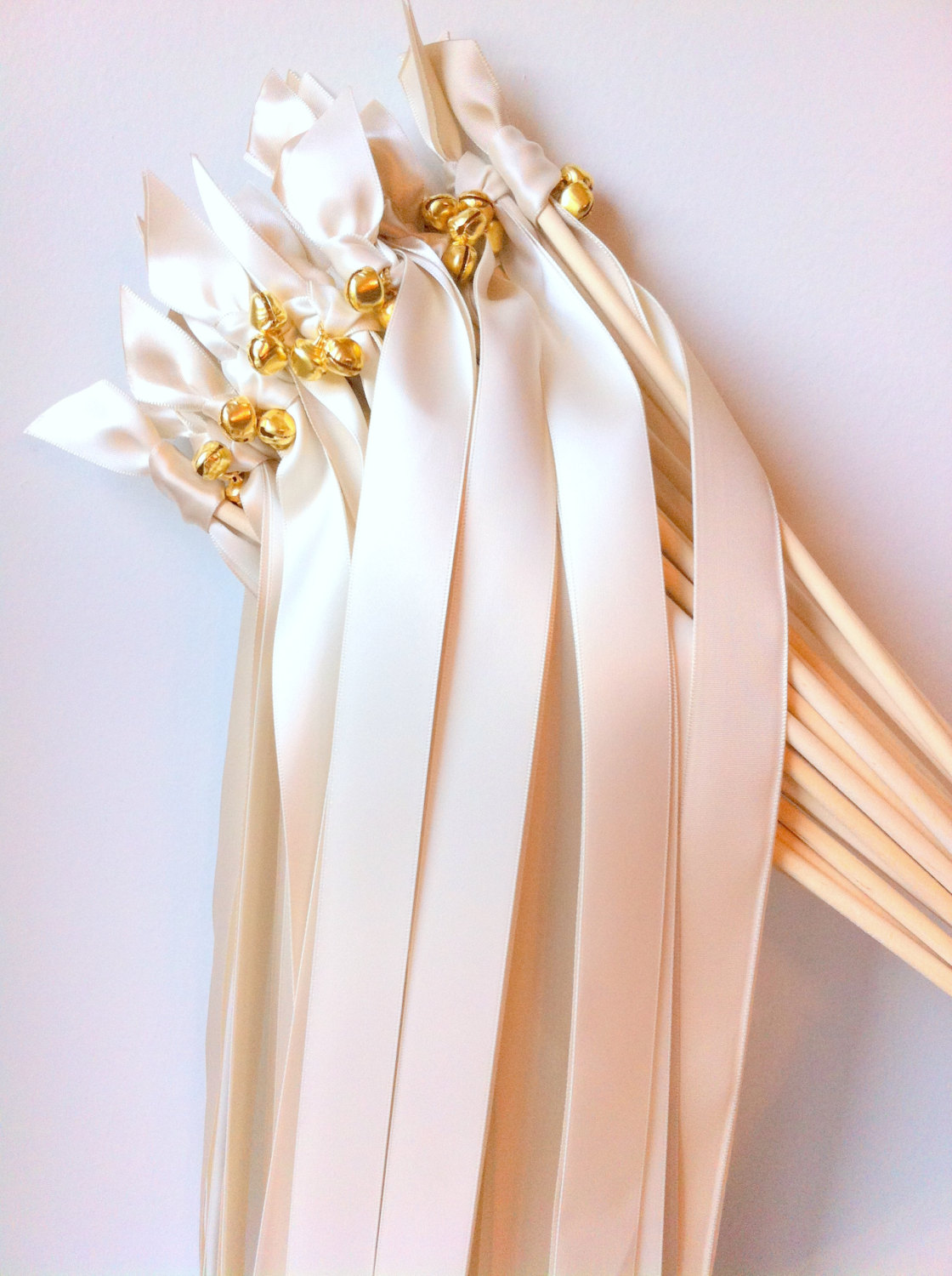 ribbon wands with bells