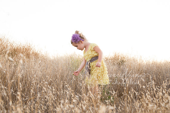 ruffle-flower-girl-dress-in-yellow