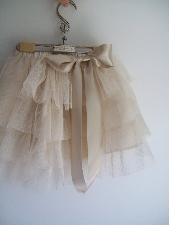 Rustica skirt | Organic Cotton Flower Girl Dresses