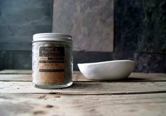 salt of the earth salt scrub