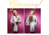 satin bridal robe giveaway