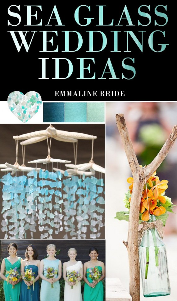 sea glass wedding pinterest