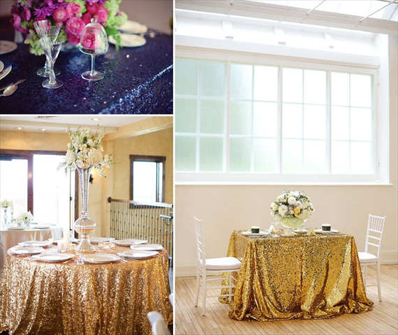 Take Cover 7 Ways To Cover Your Reception Tables