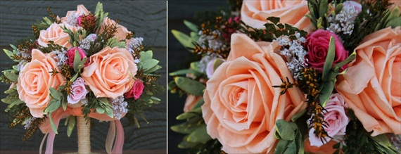 Themed Wedding Bouquets - Shabby Chic Wedding Bouquet