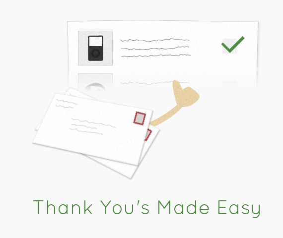 Register for Anything Online -- Thank You Writing Made Easy, Too