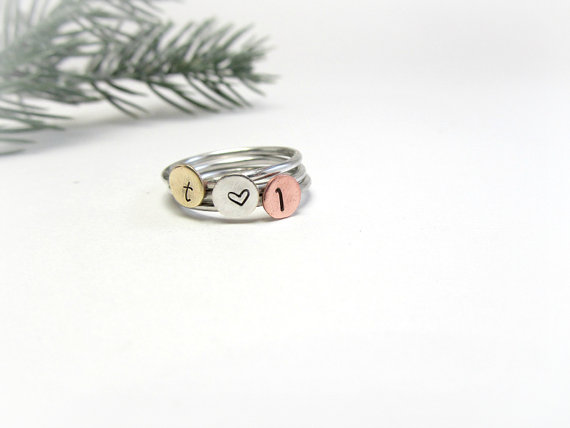 stackable rings via 27 Amazing Anniversary Gifts by Year https://emmalinebride.com/gifts/anniversary-gifts-by-year/
