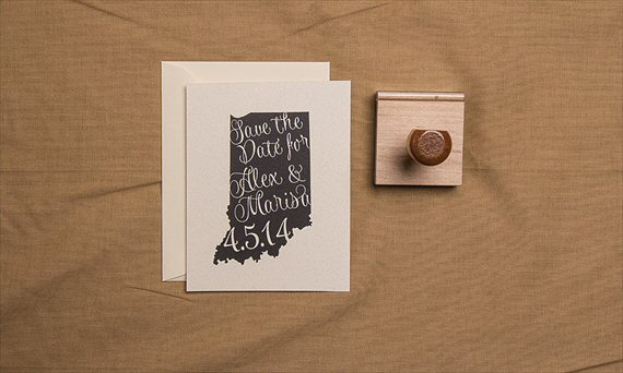 3 Reasons You Need a Custom Stamp - Custom Rubber Stamp (by Sparkvites)