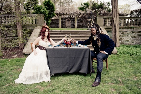 50+ Best Wedding Theme Ideas - Steampunk Wedding (photo by bg productions)