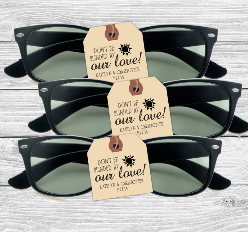 sunglasses favors