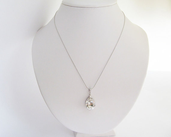 swarovski bridal jewelry - necklace