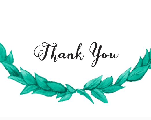 Helpful thank you card generator using your choice of fonts, colors, and styles | by Basic Invite | order cards weddings | https://emmalinebride.com/planning/order-cards-weddings/