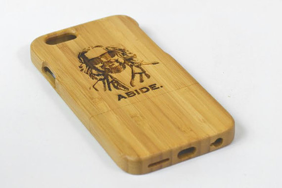 the dude abides cell phone case