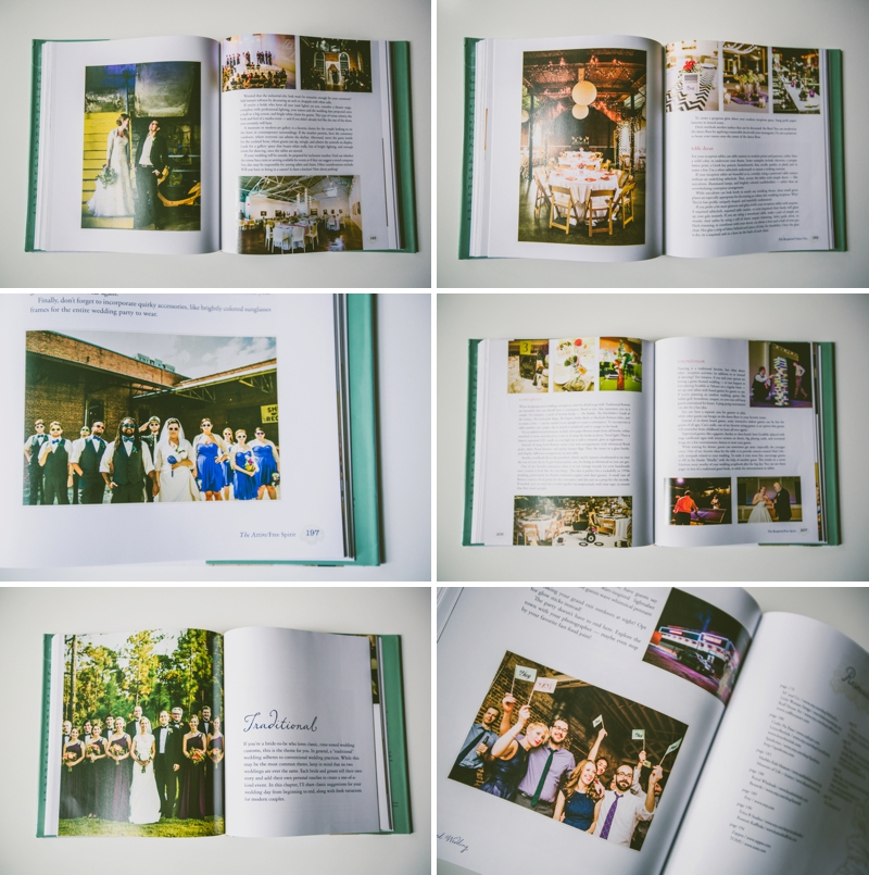 Photos of The Inspired Wedding Book, images courtesy of Carolyn Scott | http://emmalinebride.com/2015-giveaway/the-inspired-wedding-book/