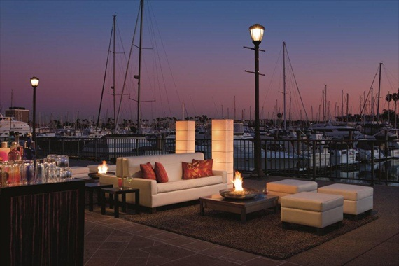 The Ritz-Carlton Marina Del Rey - outdoor space