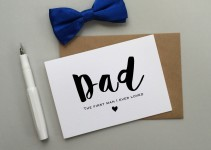to my dad card