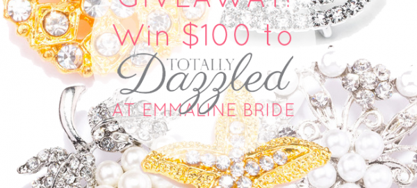 rhinestone wedding brooch giveaway