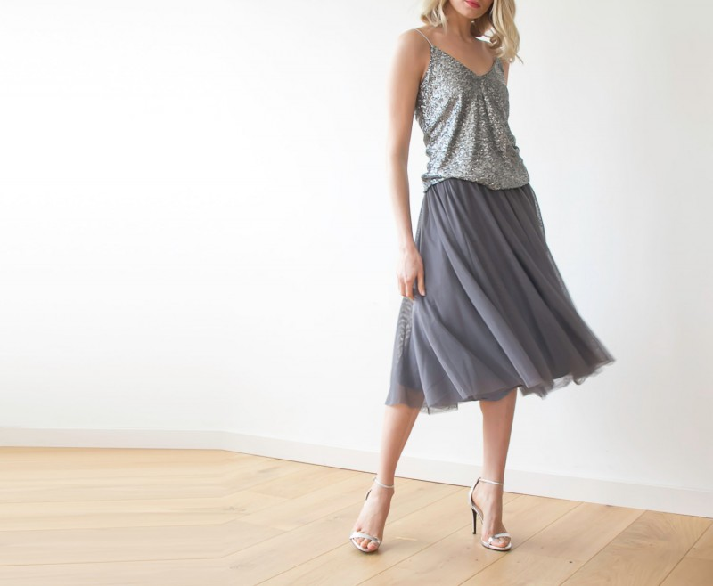 tulle bridesmaid skirts