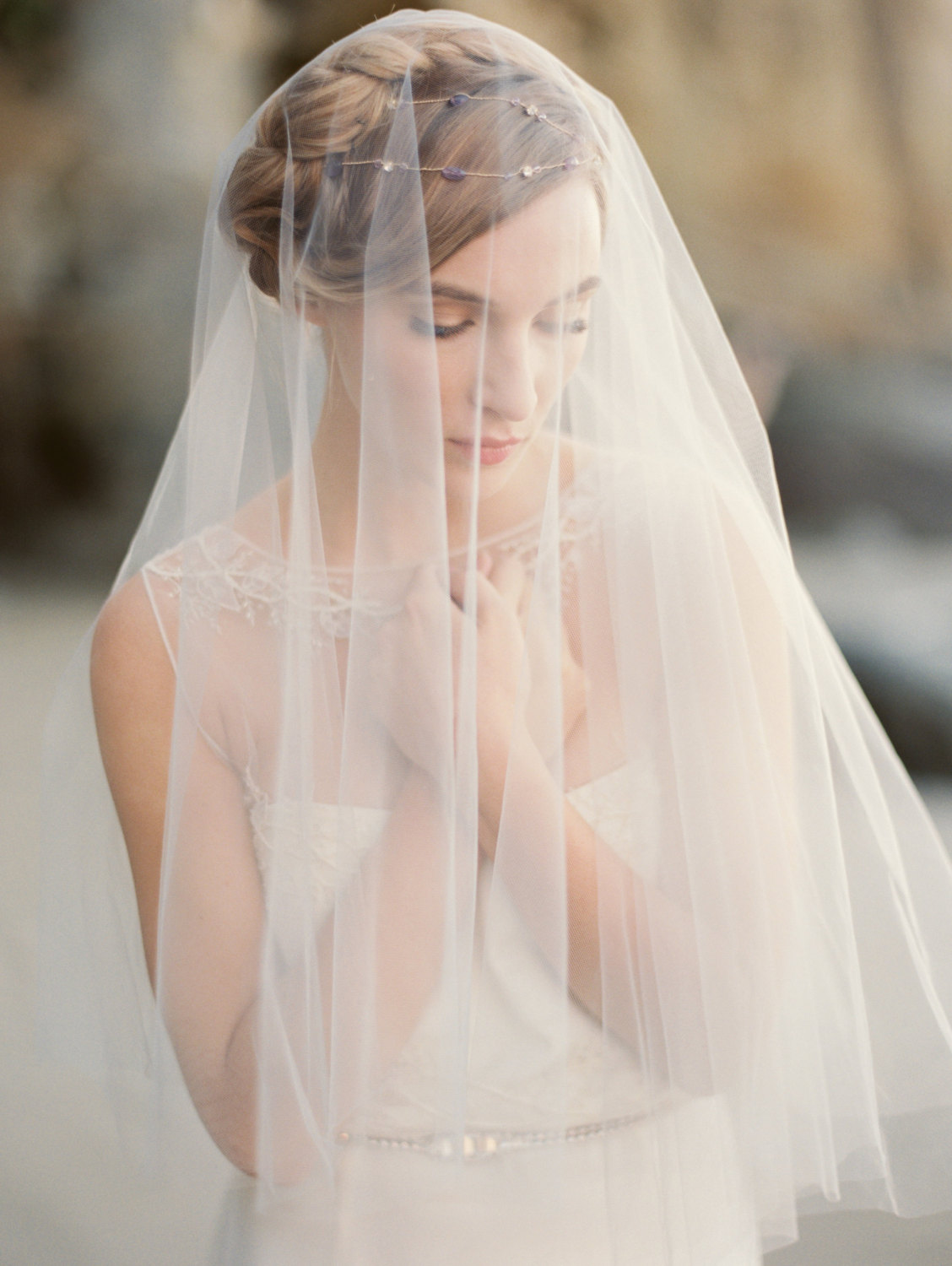 tulle wedding veils