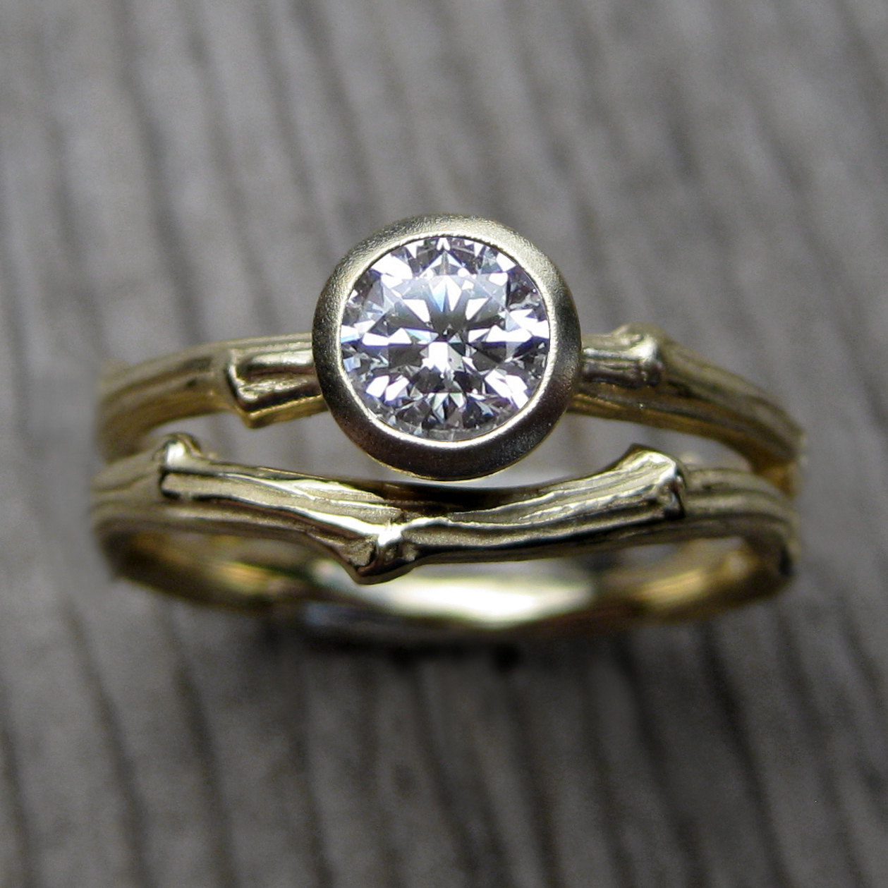 twig engagement ring by kristin coffin   Nature Inspired Wedding Ideas   http://wp.me/p1g0if-x0y