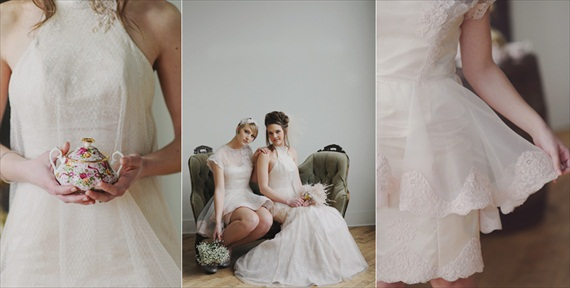 Vintage Bridal Hairstyles / Inspiration Shoot (hair: jennifer grace; photography: amy carroll photography)