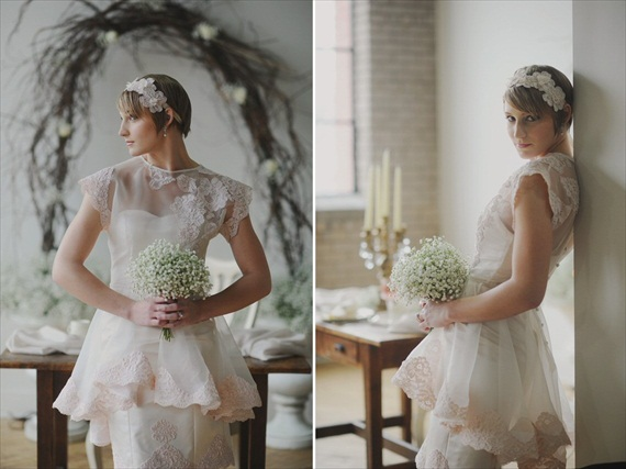 Vintage Bridal Hair / Inspiration Shoot (hair: jennifer grace; photography: amy carroll photography)