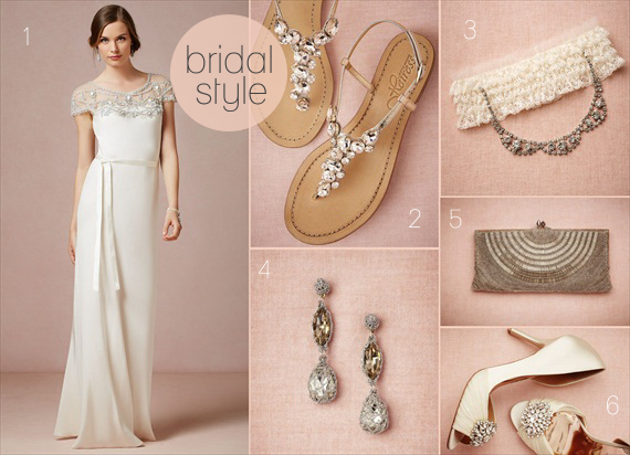 Styleboard:  Vintage Inspired Bridal Finds