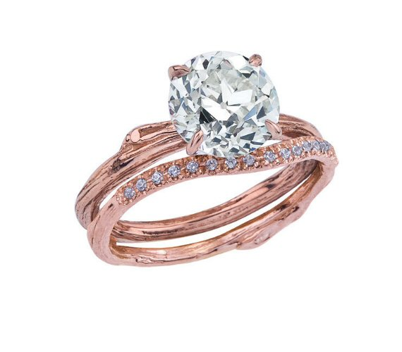 vintage diamond in new ring setting via 7 Tips for Picking an Engagement Ring