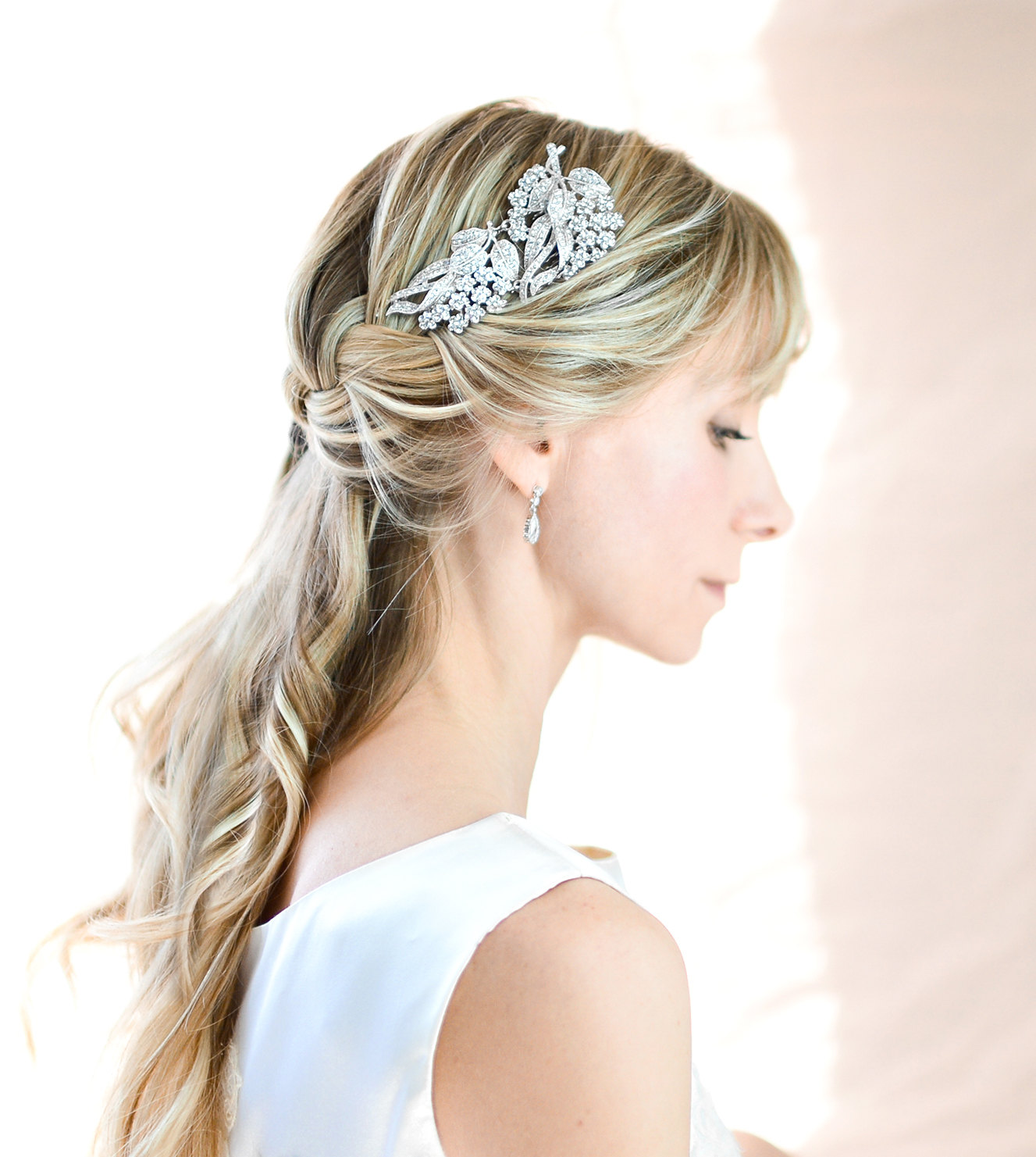 what to wear instead of a veil - emmaline bride