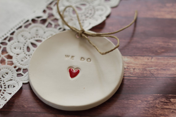 we do ring bearer dish - 8 Perfect Ceremony Accessories
