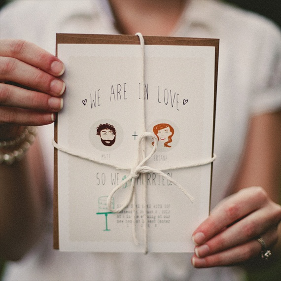 we_are_in_love_married_elopement_card