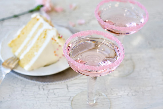 50 Best Bridal Shower Favor Ideas: wedding cake flavored rim sugar (by dell cove spices)