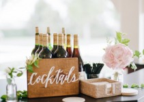 wedding cocktails sign