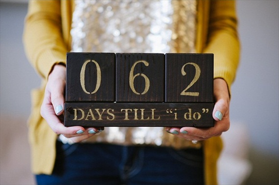 Useful Wedding Gifts For Couples : 12 Useful Gift Ideas for Newly Engaged - wooden countdown: keary dee ...