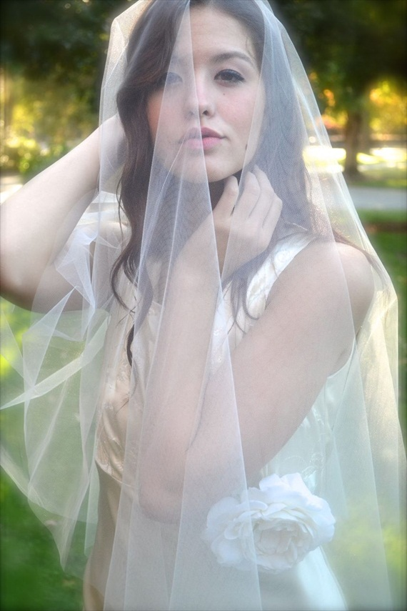 wedding drop veil