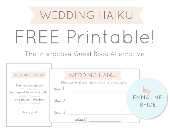 wedding-haiku-cards-printable