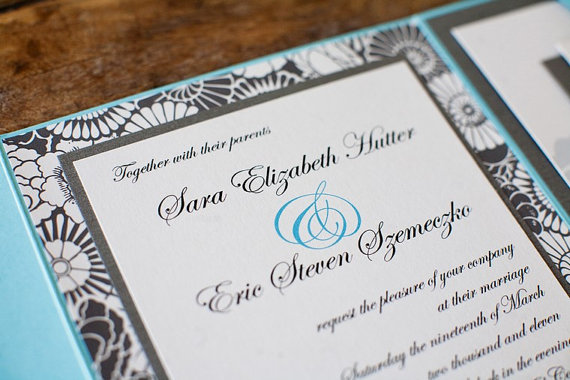 Ordering Wedding Invitations? Read This First (via EmmalineBride.com, invitation by I Do Bliss)