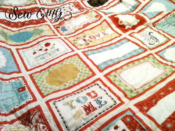 wedding-quilt via Top 10 Non Registry Wedding Gifts