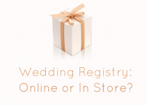 wedding registry online or in store top