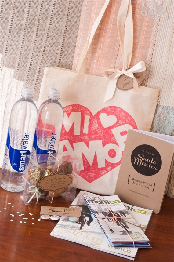 DIY Wedding Ideas: Wedding Welcome Bags | photo by Meghan Christine Photography