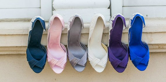Wedding Shoe Tips - heels (by Walkin On Air)