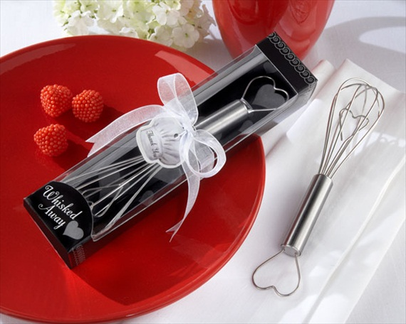 50 Best Bridal Shower Favor Ideas: whisk bridal shower favor