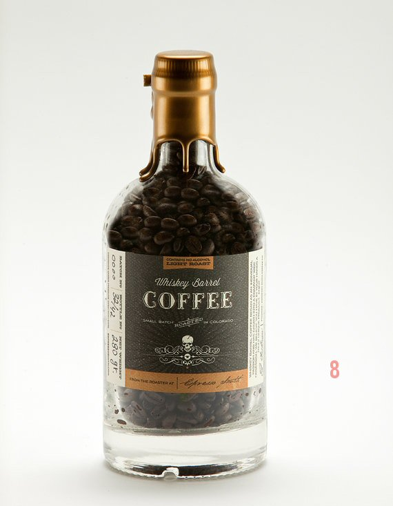 Gifts for the Groom He'll Actually Use (via EmmalineBride.com) - Whiskey Barrel Coffee (by Espresso Smith)