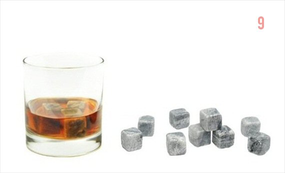 Gifts for the Groom He'll Actually Use (via EmmalineBride.com) - Whiskey Stones (by Sipping Stones)