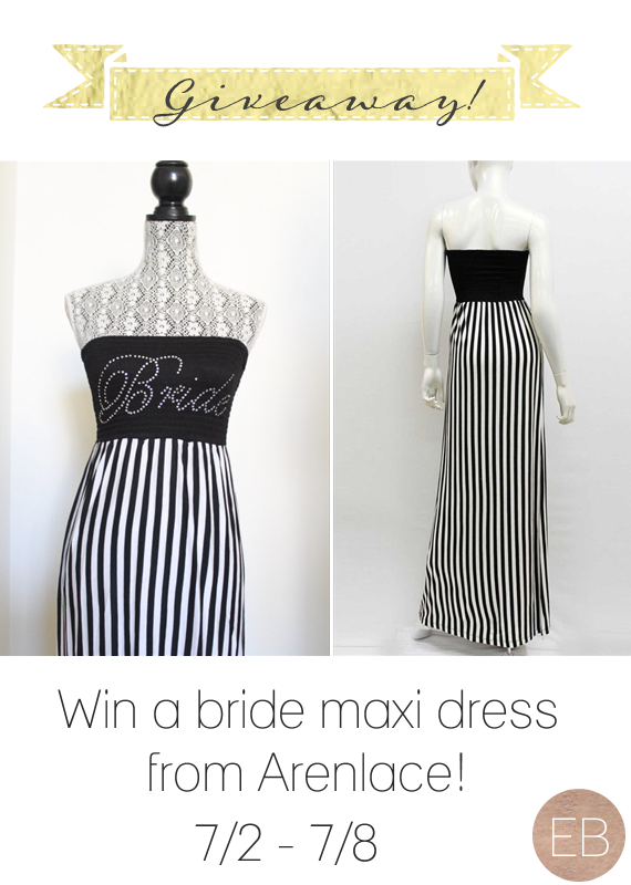 Win a Bride Maxi Dress via How to Plan a Honeymoon (Part 1 of 4)