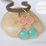 Win a Pair of Earrings! March 11-17, 2013 (by RusticGem Jewelry via EmmalineBride.com) #handmade #wedding #jewelry