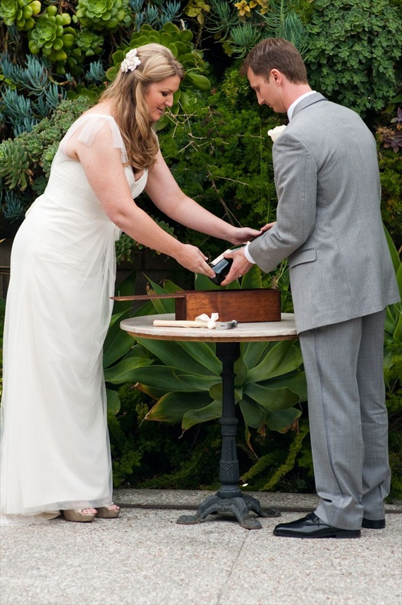 Wine Ceremony (photo: meghan christine) - Unity Ceremony Ideas